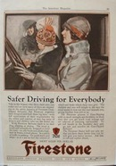 Firestone Safer Driving ad 1927