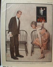 Fisk Tires Get A Fisk Ad 1926