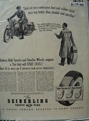 Seiberling Tire That Stays Cool Ad 1940