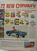 General Mills Corvairs Sweepstakes Ad 1960