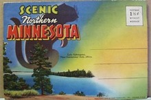 1940's Northern Minnesota drop down cards