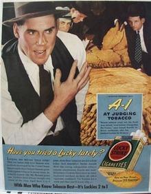 Lucky Strike Joseph Burnett Ad 1939
