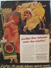 Lucky Strike Alex Irvin Ad 1940