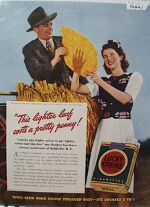 Lucky Strike Reuben Smothers Ad 1941