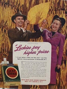 Lucky Strike Ray Oglesby Ad 1941