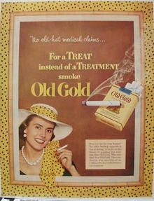 Old Gold No Old Hat Ad 1952