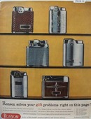 Ronson Solves Gift Problems Ad 1957