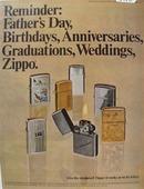 Zippo Lighter Reminder Ad 1969