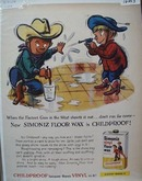 Simoniz Wax Fastest Gun Ad 1959