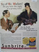 Sunbrite Cleanser Yes or No Ad 1935