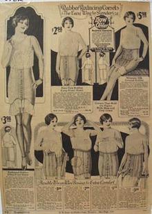 Montgomery Ward & Co. Corset Ad 1926