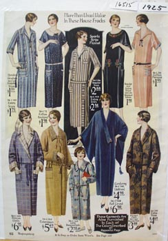 Montgomery Ward House Frocks Ad 1925