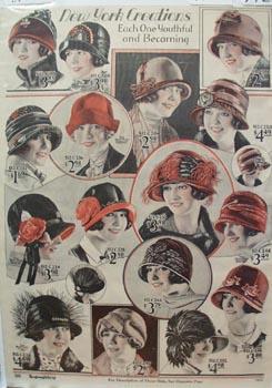Montgomery Ward New York Hats 1926