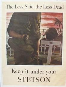Stetson Less Said Ad 1944