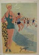 Jantzen Swimsuit Smartest Attire Ad 1929