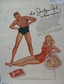 Jantzen Swimwear That Jantzen Girl Ad 1941
