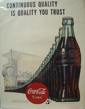 Coca-Cola Continuous Quality Ad 1947