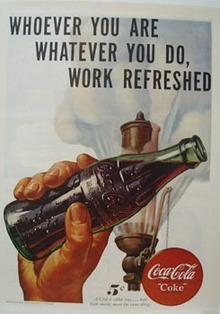 Coca-Cola Whoever You Are Ad 1947