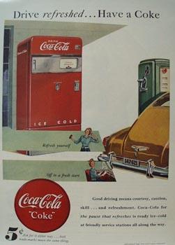 Coca-Cola Good Driving Ad 1948