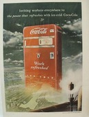 Coca-Cola Inviting Workers Ad 1949