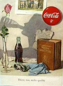 Coca-Cola Thirst Seeks Quality Ad 1950