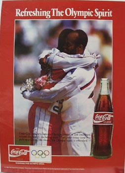 Coca-Cola The Olympic Spirit Ad 1992