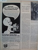 Casper The Ghost & Sylvania Ad 1966