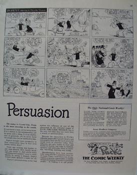 Popeye &  Puck Comic Weekly  Ad 1948
