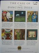 Glenfiddich Malet Case of Dancing Deer Ad 1980