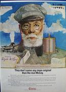 Coors Beer Salutes Elijah McCoy Ad 1988