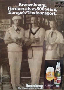 Kronenbourg Beer More Than 300 Years Ad 1986