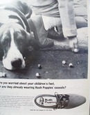 Hush Puppies & Marble Shooter Ad 1966