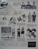 Roy Rogers Christmas Gifts Ad 1955