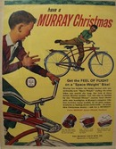 Murray Bicycle Christmas Ad 1963