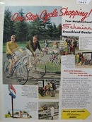 Schwinn Bike One Stop Shopping Ad 1969