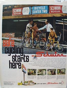 Schwinn Safe Cycling Ad 1969
