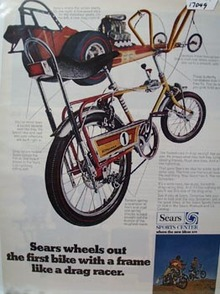 Sears Wheels Out Bike Ad 1969