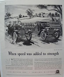 Reo Trucks Speed Added to Strength Ad 1944