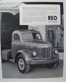 Reo Trucks A Name to Watch Ad 1945