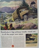 Studebaker Military Truck Stands Out Ad 1943