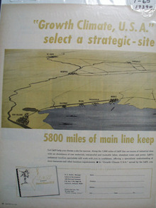 L & N RR Growth Climate Ad 1965