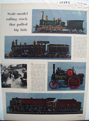 Scale Model Trains Article 1966