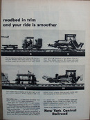 New York Central RR What's New Ad 1957