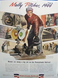 Pennsylvania RR Molly Pitcher 1944