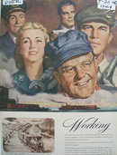 Pennsylvania Railroad Working Partners Ad 1946