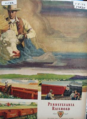 Pennsylvania RR Good Providers Ad 1946