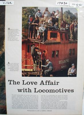 Reading Railroad Love Affair Article 1961