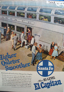 Santa Fe RR Higher Quieter Ad 1957