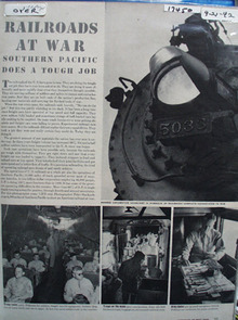 Railroads At War Article 1942