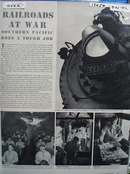 Railroads At War Article 1942